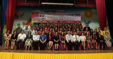 雪州梳邦再也力行小学与吉隆坡坤成二校学术访问交流