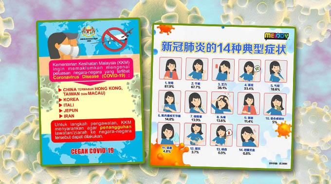 马来西亚卫生部给予公众的温馨提醒